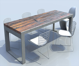 Boutique Table design
